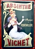 ABSINTHE SHEET METAL-SIGN VICHET