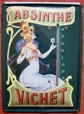 ABSINTHE SHEET THERMOMETER VICHET