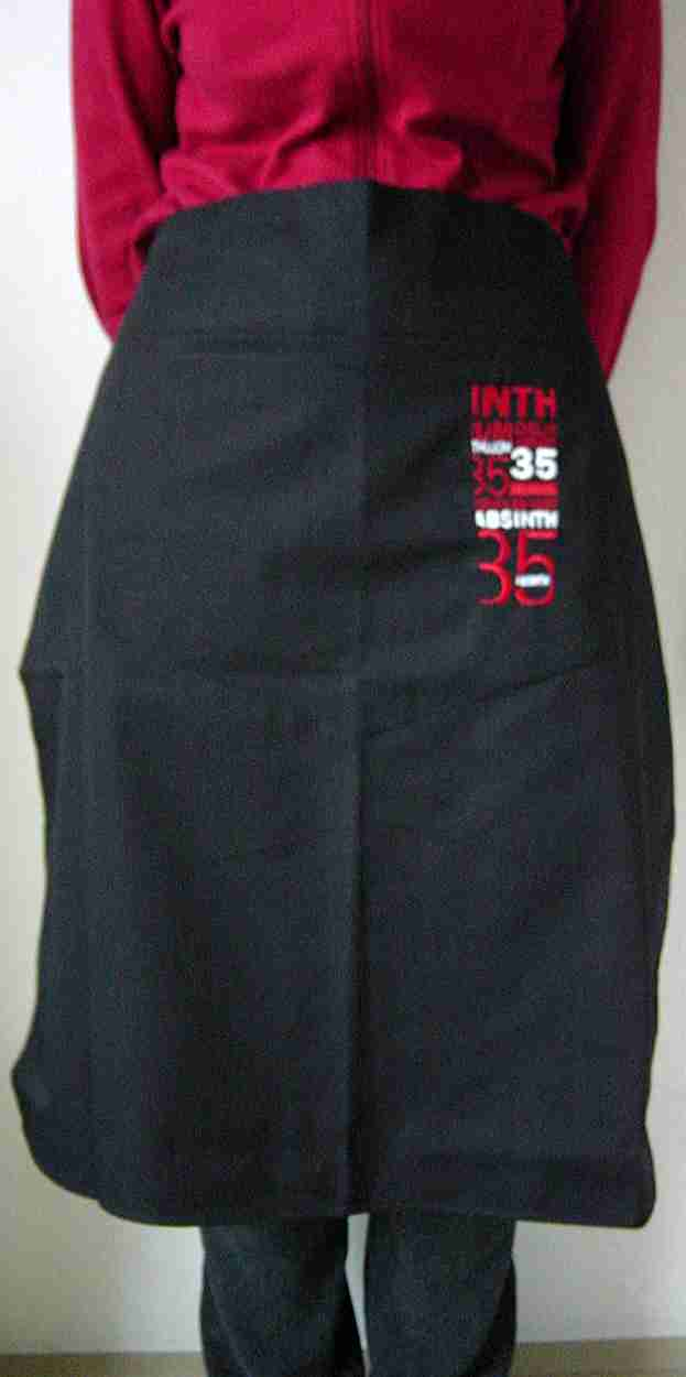 ABSINTHE BAR APRON L`OR ABSINTHE 35