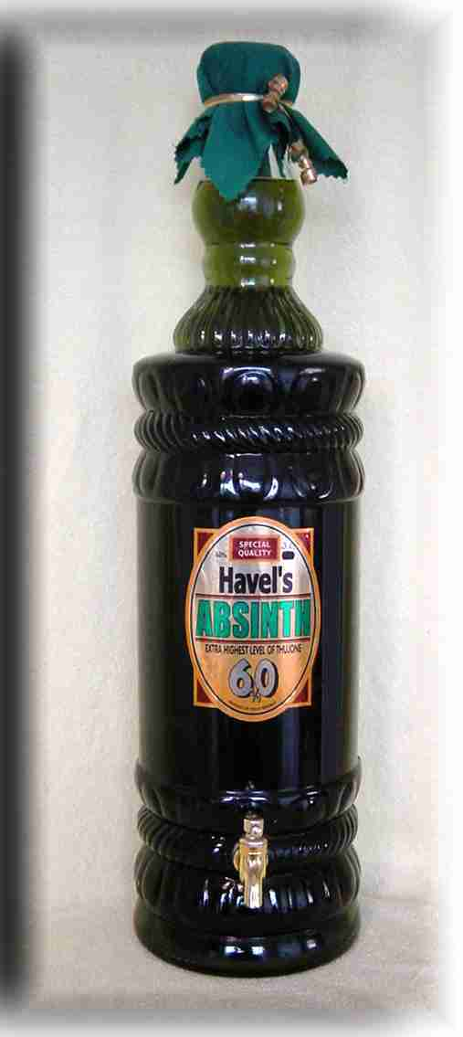 HAVEL`S ABSINTHE JUBILEE BOTTLE