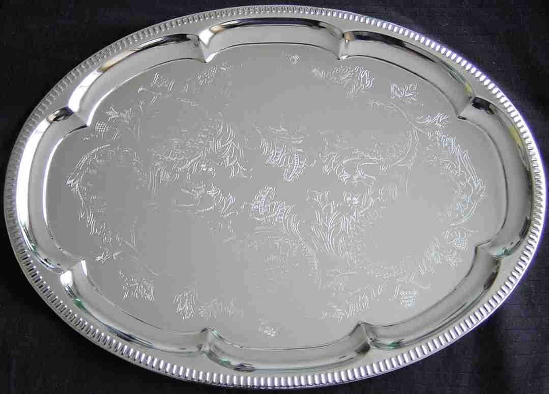 ABSINTHE TRAY oval